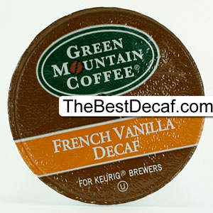 Decaf K-Cup: Green Mountain French Vanilla