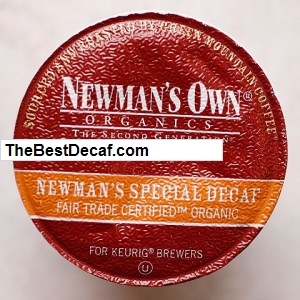Newman's own Decaf - organic