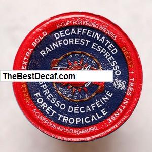 Timothy Rainforest Espresso Decaf K-Cups
